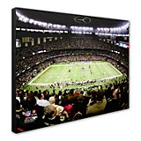 "Photo File New Orleans Saints Superdome 20"" x 24"" Stretched Canvas Photo"