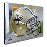 "Photo File New Orleans Saints 20"" x 24"" Stretched Canvas Helmet Photo"