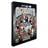 "Photo File San Antonio Spurs All-Time Greats 20"" x 24"" Stretched Canvas Photo"