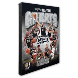 "Photo File San Antonio Spurs All-Time Greats 8"" x 10"" Photo"