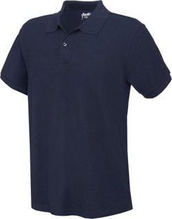 Men's Back to School Short Sleeve Performance Pique Polo Shirt