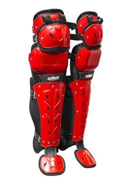 """Schutt Adults' AiR Maxx Scorpion 17"""" Triple-Flex Leg Guards"""