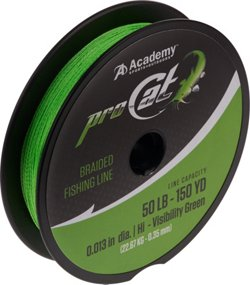 Pro Cat 150 yards Braided Fishing Line