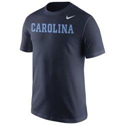 Nike™ Men's University of North Carolina Wordmark T-shirt
