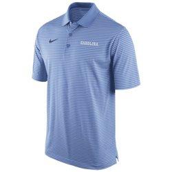 Nike Men's University of North Carolina Stadium Performance Polo Shirt