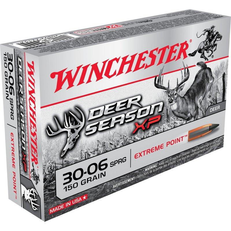 Winchester Deer Season XP .30-06 Springfield 150-Grain Rifle Ammunition – Rifle Shells at Academy Sports