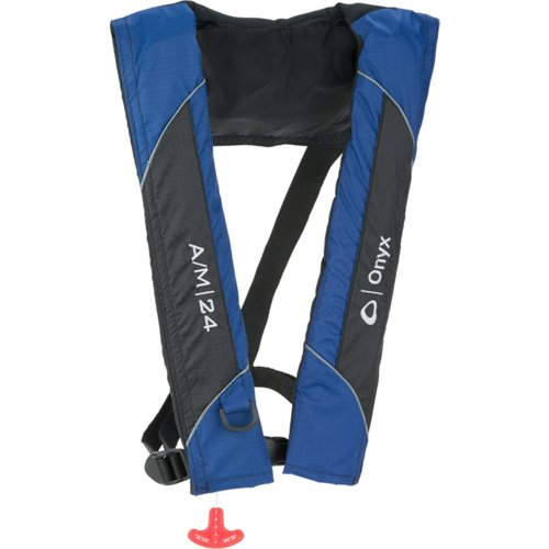 Onyx Outdoor Adults' A/M 24 Automatic/Manual Inflatable Life Jacket