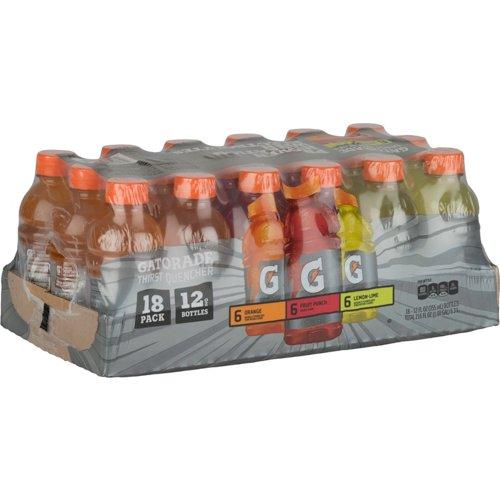 Gatorade Ready-to-Drink 12 oz Sports Drinks 18-Pack