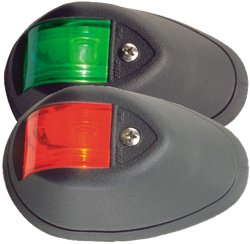 Perko 12V Vertical-Mount Side Lights 2-Pack
