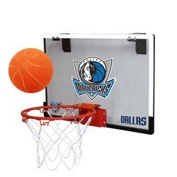 Rawlings Dallas Mavericks Game On Polycarbonate Hoop Set