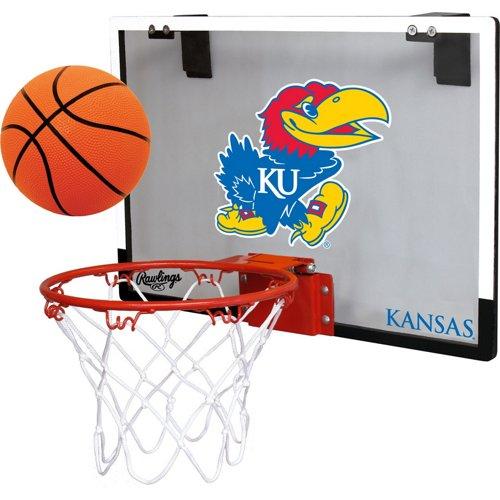 Rawlings® University of Kansas Game On Polycarbonate Hoop Set