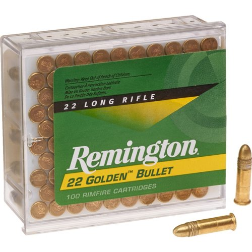 Remington Golden Bullet .22 LR 40-Grain Rimfire Ammunition