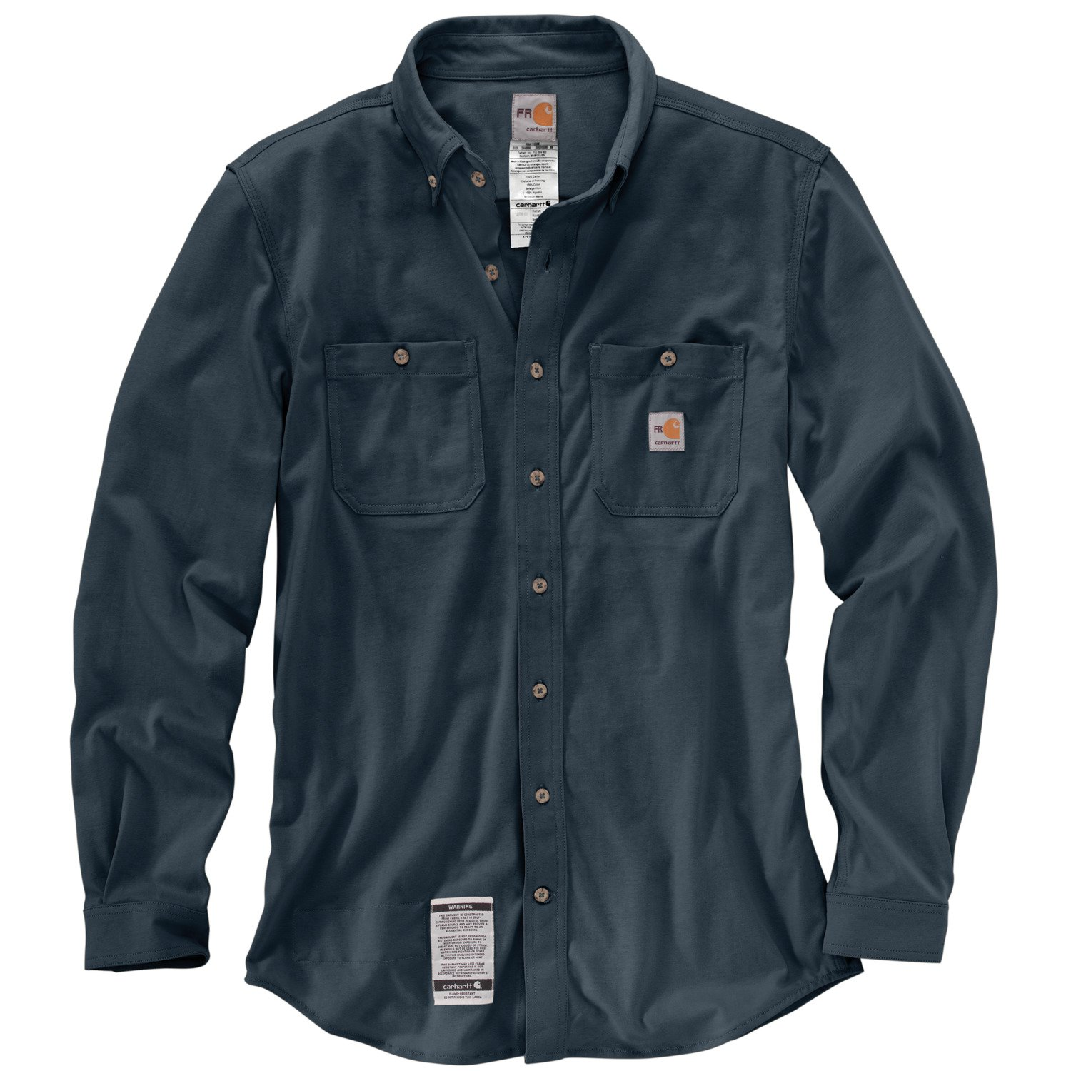 88b66d208793d Carhartt Men's FR Force Cotton Hybrid Shirt | Academy