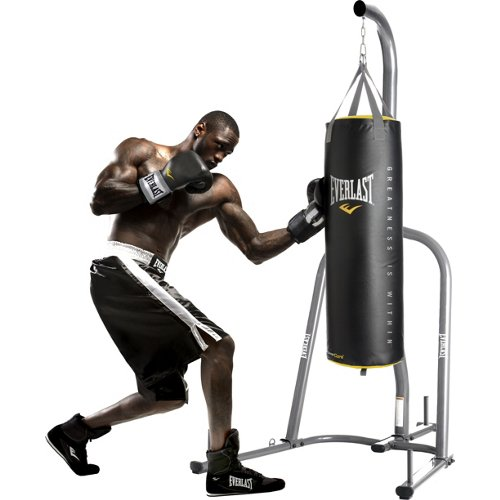 Everlast® Powercore 100 lb. Synthetic Leather Heavy Bag