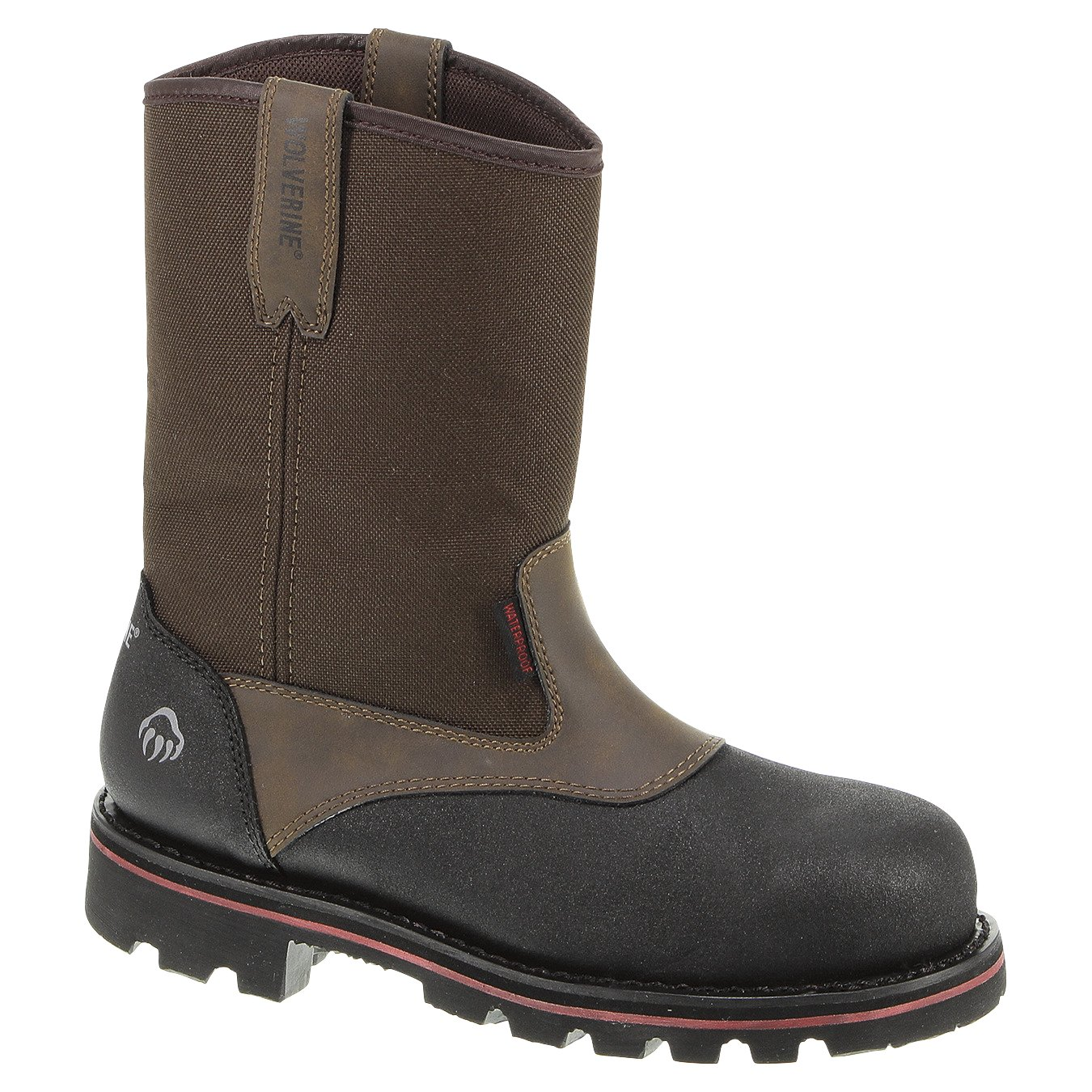 4a9aa95a817 Wolverine Men's Drillbit Oil Rigger EH Composite Toe Wellington Work Boots