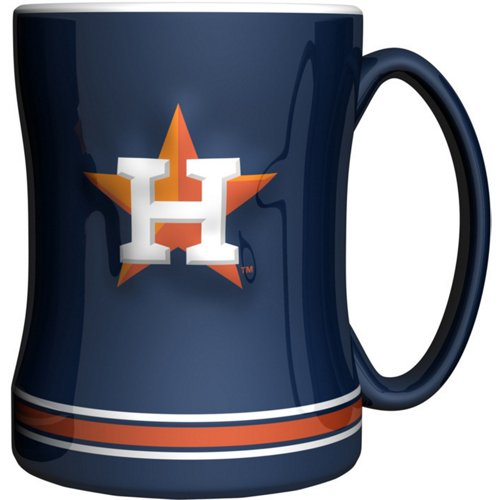 Boelter Brands Houston Astros 14 oz. Relief Style Coffee Mug