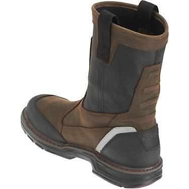 4b75c083829 Wolverine Men's Overman EH Composite Toe Wellington Work Boots