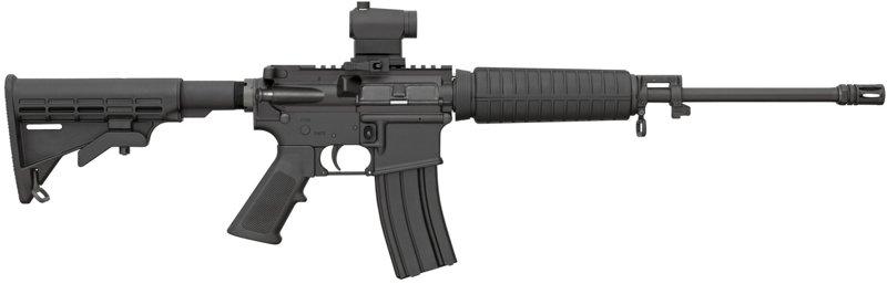 Bushmaster Quick Response 5.56/.223 Semiautomatic Carbine With Mini Red-Dot Optic Black - Modern Sporting Rifles at Academy Sports thumbnail