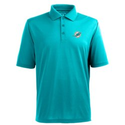 Men's Miami Dolphins Piqué Xtra-Lite Polo Shirt