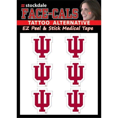 Stockdale Indiana University 6-Piece Face Decal