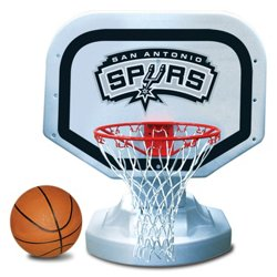 Poolmaster® San Antonio Spurs Competition Style Poolside Basketball Game