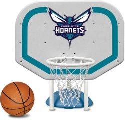 Poolmaster® Charlotte Hornets Pro Rebounder Style Poolside Basketball Game