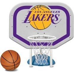 Poolmaster® Los Angeles Lakers Pro Rebounder Style Poolside Basketball Game