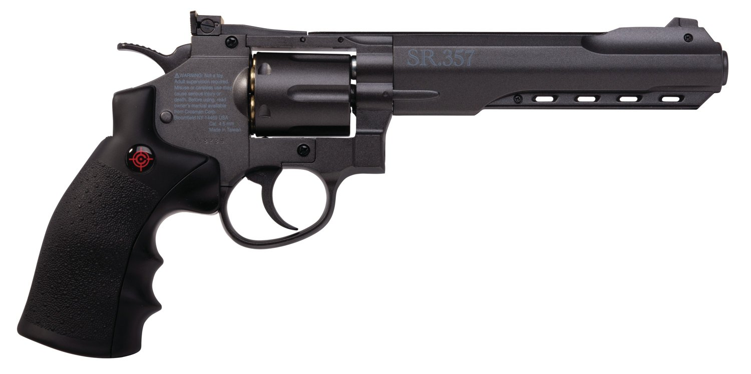 Crosman SR357 .177 Caliber Air Revolver