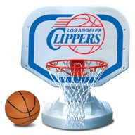 Poolmaster® Los Angeles Clippers Competition Style Poolside Basketball Game