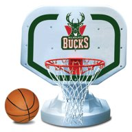 Poolmaster® Milwaukee Bucks Competition Style Poolside Basketball Game