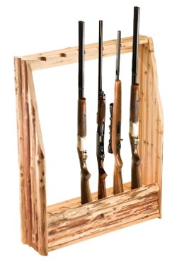 6-Gun Rack with Storage