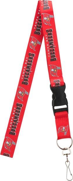 Pro Specialties Group Tampa Bay Buccaneers Team-Color Lanyard