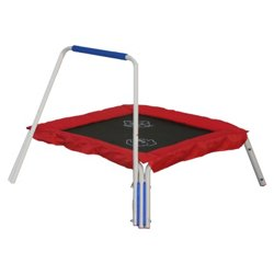 "Skywalker Trampolines 36"" Square Trampoline Bouncer with Animal Sounds"