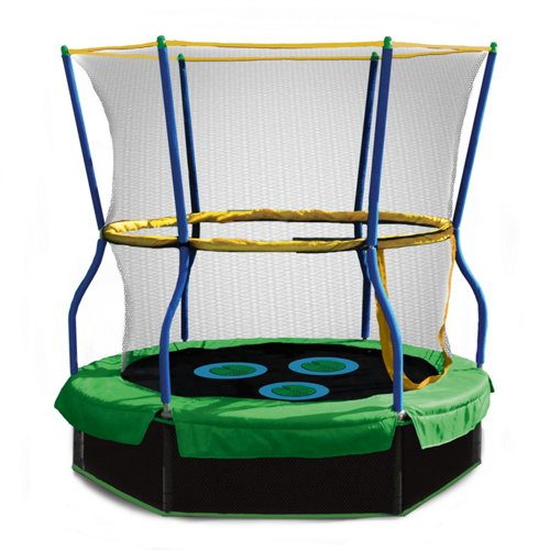 Skywalker Trampolines 40' Lily Pad Adventure Bouncer with Enclosure