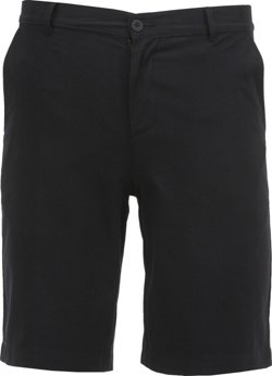 Men's Uniform Flat Front Twill Short