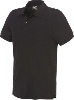 Austin Trading Co. Men's Back to School Short Sleeve Performance Pique Polo Shirt