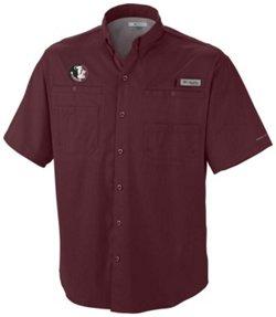 Columbia Sportswear Men's Florida State University Tamiami Short Sleeve Fishing T-shirt