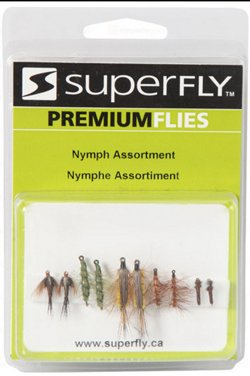 Superfly Nymph Assortment Flies 10-Pack