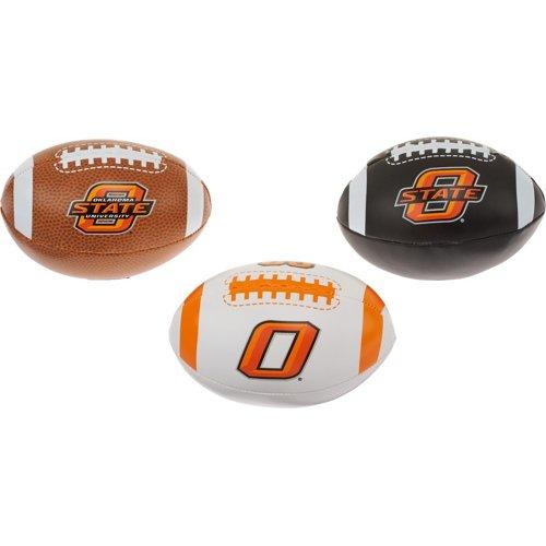 Rawlings® Boys' Oklahoma State University 3rd Down Softee 3-Ball Football Set