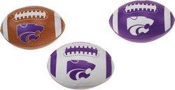 Rawlings® Boys' Kansas State University 3rd Down Softee 3-Ball Football Set