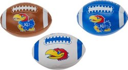Rawlings Boys' University of Kansas 3rd Down Softee 3-Ball Football Set