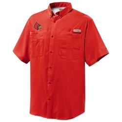 Columbia Sportswear™ Men's University of Louisville Tamiami™ Short Sleeve Shirt