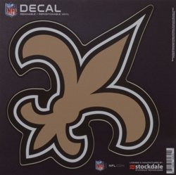 "New Orleans Saints 6"" x 6"" Decal"