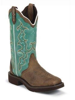 Justin Women's Cowhide Gypsy Western Boots