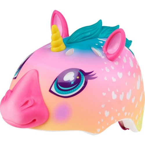 Raskullz Kids' Super Rainbow Corn Bike Helmet