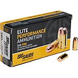 SIG SAUER Elite Ball .380 Auto 100-Grain FMJ Pistol Ammunition