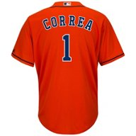 Majestic Men's Houston Astros Carlos Correa #1 Cool Base® Replica Jersey