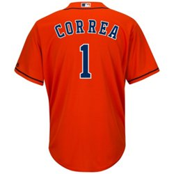Majestic Men's Houston Astros Carlos Correa #1 Cool Base® Replica Jersey