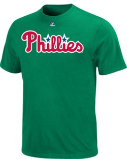 Majestic Men's Philadelphia Phillies Official Wordmark T-shirt