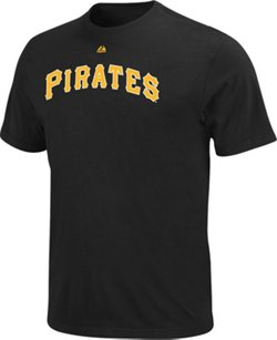 Majestic Men's Pittsburgh Pirates Official Wordmark T-shirt